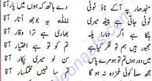 Gham Ho Gaye Beshumar Aaqa Naat Lyrics Urdu